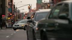 Congested Brooklyn Traffic - stock footage