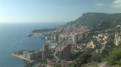 Monte Carlo in Monaco Stock Footage