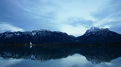 Forggensee lake #8 Stock Footage