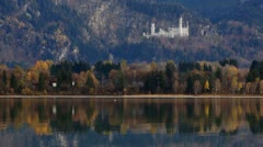 Forggensee lake #2 Stock Footage