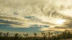 RAW sky timelapse Stock Footage