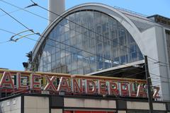 alexanderplatz in berlin - stock photo