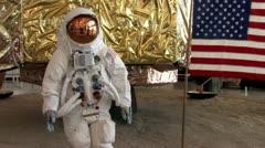 720p Moon Landing 4 Stock Footage