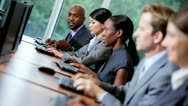 Multi Ethnic Team Financial Traders Stock Footage
