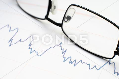 Stock photo of stock market graph