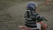 Stock Video Footage of Kids Riding Quad bikes
