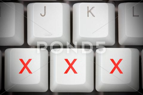 Stock photo of online porn concept