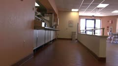 Hospital Cafeteria ED Stock Footage
