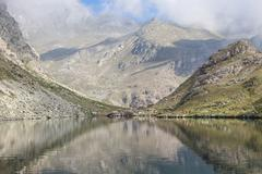 Alpine lake Stock Photos