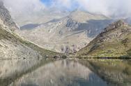 Stock Photo of alpine lake