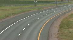 1440 HWY 5 Freeway Traffic 5 Stock Footage