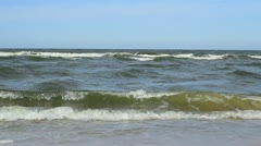 Restless Waves Footage Stock Footage