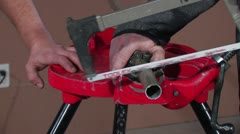 TRIPO CHAIN VISE 13 Stock Footage
