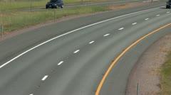1080p HWY 5 Freeway Traffic 4 Stock Footage