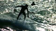 Surf 5 - stock footage