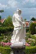 white statue - stock photo