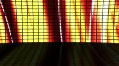 Stage Set Flowing Colors Loop - stock footage
