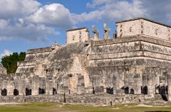 chichen itza mexico - stock photo