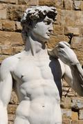 david in florence italy - stock photo