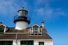 Point pinos lighthouse Stock Photos