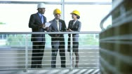 Letting Agent Showing Business People Industrial Property Stock Footage
