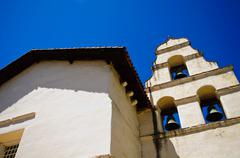 san juan bautista mission - stock photo