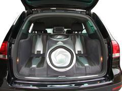 Car luxury audio system.jpg Stock Photos