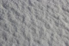 Snow on ground - stock photo