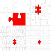 Puzzle concept Stock Illustration
