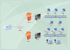 Mobile network Stock Illustration