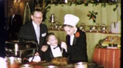 BAR MITZVAH BOY Reception Jewish 1960 (Vintage Old Film Home Movie Footage) 5553 Stock Footage