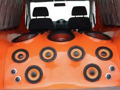 Car audio-system.jpg Stock Photos
