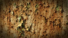 Grunge Metal Rusty Layer Loop Stock Footage