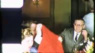 People Dinner Party JEWISH AMERICAN 1960s Vintage Retro Film Home Movie 5557 Stock Footage