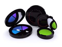 eyeshadow - stock photo