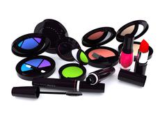 make-up series - stock photo