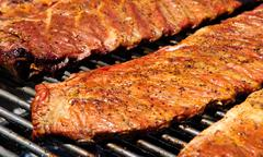 Barbecue bbq ribs Stock Photos