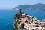 Stock Photo of corniglia cinque terre italy