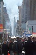 The Crowded Streets of NYC Stock Photos