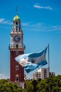 Torre Monumental in Buenos Aires - stock photo