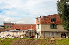Lower Class Neighborhood - stock photo