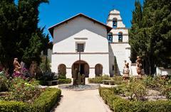 San juan batista california mission Stock Photos