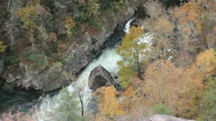 Stock Video Footage of Tallulah Gorge #1