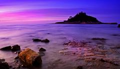 st michaels mount - stock photo