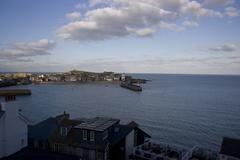 St ives, at sunset Stock Photos