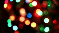 Flickering defocused lights Stock Footage