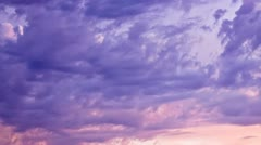 Cloud Time-lapse Fading Out - stock footage