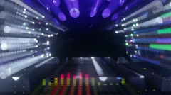 Spectrum13music graphic equalisers spectrum Stock Footage