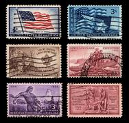 us postage - stock photo