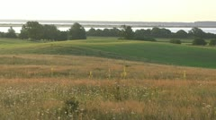 Summer Morning on Hiddensee Island (Dornbusch) - Baltic Sea, Northern Germany Stock Footage